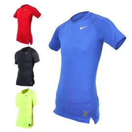 NIKE PRO 男短袖T恤(路跑 慢跑 健身 重訓 短袖緊身衣【06180208】≡排汗專家≡