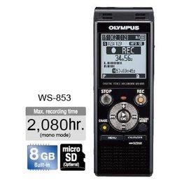 Olympus WS~853 錄音筆 ^(8GB可擴充^) 德明 貨 18個月