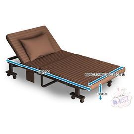 折疊躺椅折疊床單人午睡床雙人辦公室午休床簡易1.2米便攜躺椅行軍床~3C 科技館~TW