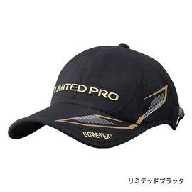 ◎百有釣具◎SHIMANO 頂級GORE-TEX LIMITED PRO CA-110P 高透氣釣魚帽 黑/紅