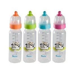 Basilic貝喜力克D209防脹氣PP直圓型奶瓶-240ml/M【HH婦幼館】