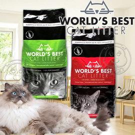 World s Best世嘉~強效凝結配方玉米貓砂~28磅12.7kg 包