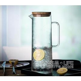 冷水壺玻璃耐熱茶壺茶具涼水壺~韓風館~