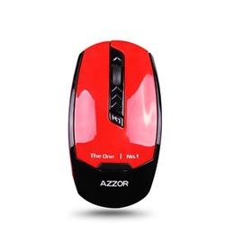 自由角落AZZOR按鍵無聲滑鼠超級省電王不掉色卡佐I8無線滑鼠超薄可愛