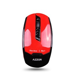 AZZOR按鍵無聲滑鼠超級省電王不掉色卡佐I8無線滑鼠超薄可愛