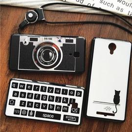 照相機紅米note2 3手機殼小米4掛繩保護套小米note掛脖女潮~3C 科技館~