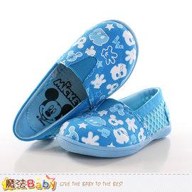 童鞋 迪士尼米奇 幼兒園輕巧鞋 魔法Baby^~sh9953