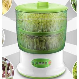 容威豆芽機DYJ~A01全自動家用雙層豆芽機大容量果蔬機發芽機綠色僅此一件8 26~3C