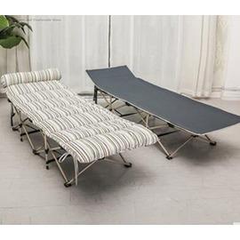 折疊椅午休靠椅躺椅辦公室椅睡椅陽臺椅加固椅~型男株式會社~