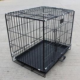 折疊加粗泰迪狗籠比熊薩摩金毛鐵籠子中大型貓犬寵物籠雞兔籠~浪漫衣櫥~
