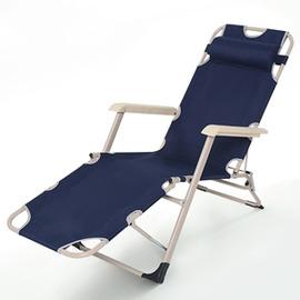躺椅折疊椅午休椅靠椅夏天睡椅懶人椅 椅折疊沙灘椅子家用~型男株式會社~