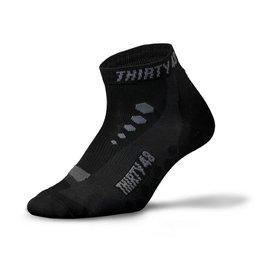 自行車襪 Cy 黑灰 美國暢銷Thirty48 專注做 的 襪 COOLMAX® 排汗 C
