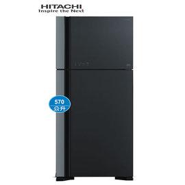 ~HITACHI日立~570公升琉璃變頻雙門冰箱^(RG599GGR 琉璃灰^)