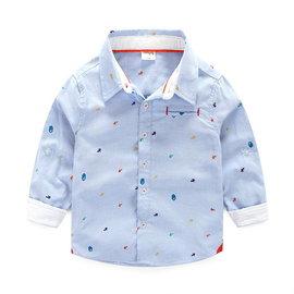 ^#10052 SALE↘ ^#10052 小紳士閃電星星長袖襯衫