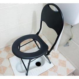坐便椅坐便凳子孕婦老人病人坐便器可折疊廁所大便椅移動馬桶~3C 科技館~