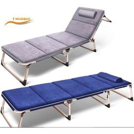 午憩寶折疊床單人床午睡床辦公室躺椅午休床簡易陪護床行軍床睡椅~3C 科技館~