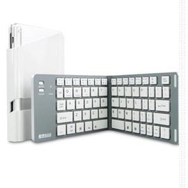 IPADAIR2藍牙鍵盤手機鍵盤無線折疊MINI3小米華為安卓~型男株式會社~