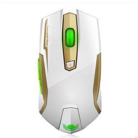 無聲無線遊戲滑鼠筆記本電腦發光可充電靜音省電滑鼠lol~3C 科技館~