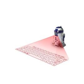 R2D2機器人鐳射投影藍牙鍵盤~型男株式會社~