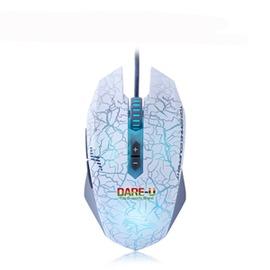 包順豐達爾優牧馬人鼠標2代升級WCG版CF LOL電競USB有線遊戲鼠標~型男株式會社~