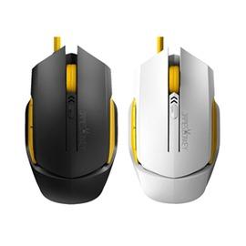 貝戔馬戶電競外設USB有線遊戲鼠標CFLOL白色賤驢電腦大鼠標~型男株式會社~