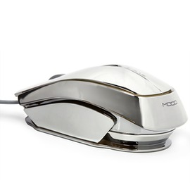 宜博M617幻影電鍍鼠標七色呼吸燈發光有線LOL電競遊戲鼠標CF背光~型男株式會社~