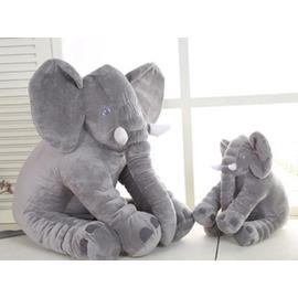 宜家大象公仔抱枕毛絨玩具陪睡娃娃寶寶睡覺玩偶情人節 送女生~3C 館~