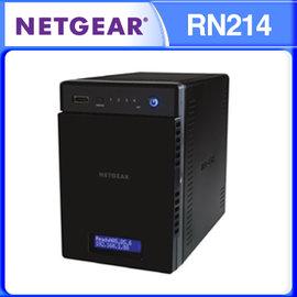 NETGEAR RN214 直立式 4BAY NAS 儲存伺服器 ReadyNAS 214