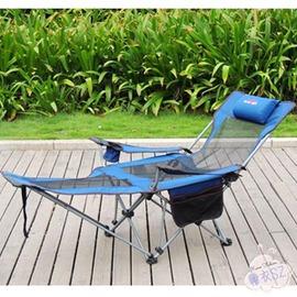 折疊躺椅輕裝行調節躺椅戶外便攜辦公午休折疊沙灘加寬豪華閒床躺椅子午睡~3C 館~TW