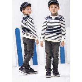 baby king  6205 黑色合身彈性牛仔褲 110CM^~170CM