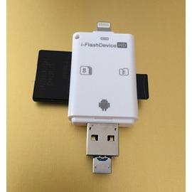 iphone6手機讀卡器iPadminiTF SD卡 讀卡器 相機套件~型男株式會社~