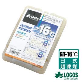 【日本 LOGOS】GT-16℃日式超凍煤(0.6kg)/冷媒.冰桶.冰磚保冷劑.保冷磚.環保冰塊/戶外行動冰箱專用_81660612