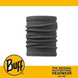 ∥萬特戶外 休閒∥ BUFF 西班牙魔術頭巾 POLAR保暖系列 領巾 ^~灰色素面^~