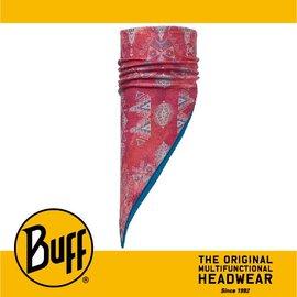 ∥萬特戶外 休閒∥ BUFF 西班牙魔術頭巾 POLAR保暖系列 斜三角巾 ^~洋紅圖騰^