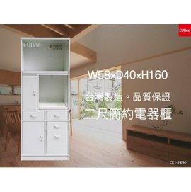 ~優彼塑鋼~ ~2尺高160雙拉盤四抽多 櫃 櫥櫃 收納櫃 抗菌無毒 堅固耐用 南亞塑鋼^