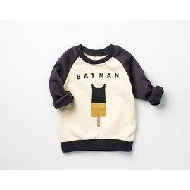 ^#10052 SALE↘ ^#10052 小英雄 拉克蘭圓領長袖T~BATMAN^(C^