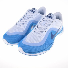 零碼出清~ NIKE  831217400 女款慢跑鞋-藍/白 831217400