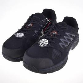 Skechers  護趾鋁合金安全鞋頭  防滑大底工作鞋 77083BLK