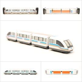 ~TRC 鐵道故事館╱ ~~中國上海懸磁浮列車~迴力小列車╱鐵支路 貨╱ 壓克力盒裝╱全省