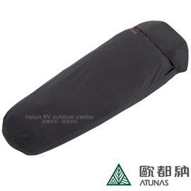 ~歐都納 ATUNAS~ 天鵝絨睡袋內套^(吸濕 排汗 保暖^).附收納袋 羽絨睡袋內層清