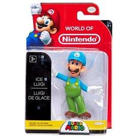 不正常玩具 代理 任天堂系列 2.5吋 可動公仔 1代 超級瑪莉歐 Ice LUIGI 冰