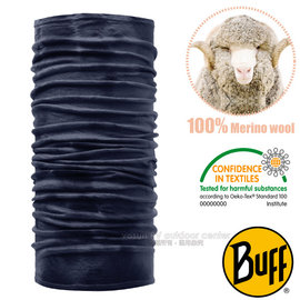【西班牙 BUFF】頂級 Merino 超輕量超彈性恆溫保暖魔術頭巾(吸溼排汗+抗菌除臭)可當圍巾_口罩_圍脖帽子/108830 丹寧水洗感