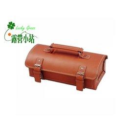 大林小草~【LY-300】TOYO 日本 牛皮製工具箱 -【國旅卡】