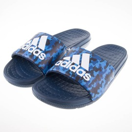 ADIDAS  Voloomix Camo Slides  藍迷彩 運動拖鞋 AQ2575
