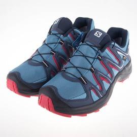 salomon  女XA FUSTER GTX野跑鞋-藍/黃 L38143100