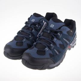 salomon  男 ESCAMBIA GTX低筒登山鞋-藍/銀 L38139600
