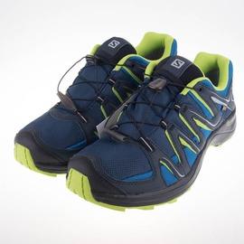 salomon  男XA FUSTER GTX野跑鞋-藍/綠 L38143000