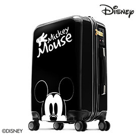 品 折扣Disney米奇奇幻旅程28吋拉鍊行李箱~ 黑
