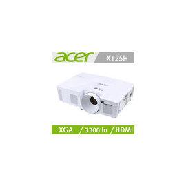 ~人言水告~acer X125H XGA 投影機~預計交期3天~