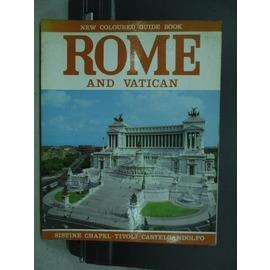~書寶 書T2╱旅遊_QCE~ROME and Vatican